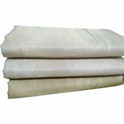 Plain 90 gm Neem Zari Tissue Fabric, For Garments