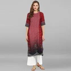 Cotton Designer Printed Cotton Kurti