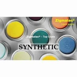 Zigmalac Synthetic Top Coats, For Industrial, Packaging Type: Can