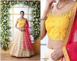 thankar Silk Party Wear And Bridal Wear Lehenga At Wholesale Rate