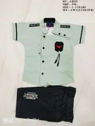 New Fashionable Fancy Shirt & Pant Set For Boys