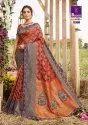 Shangrila Kalakanya Silk Designer Zari Silk Saree Catalog Collection