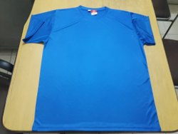 Mens Round Neck Dry Fit T Shirt
