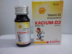 Cholecalciferol Vitamin D3 Syrup