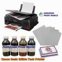 Canon Photo Cake Tank Printer (with Scanner) Complete Set Including 4 Edible Ink  & 25 Icing Sheets