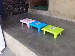 Plastic pink blue yellow bathroom sonakshi stand, For Home, Size: Medium