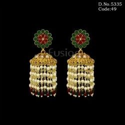 Traditional Handmade Jhumka Earrings