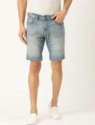 DENIM Plain Dennim shorts sports wear