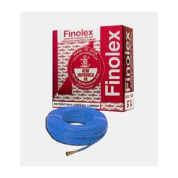 1 Sq Mm Finolex Flame Retardant PVC Insulated Blue Cable