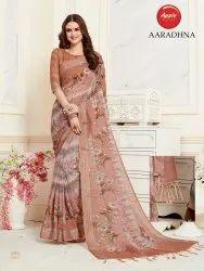 Daily Wear Linen Saree