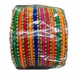 Traditional Silk Thread Bangle, Round