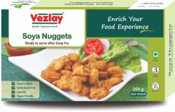 Soya Nuggets (Plant Based), 200 G, Packaging Type: Box