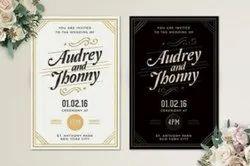 Upto 1 Week Invitation Card Printing Services