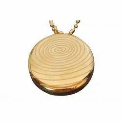 AM Gold Pendant