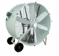 230v Or 415 V V-Belt Driven Units Industrial High Velocity Drum Fan 42 Belt Drive