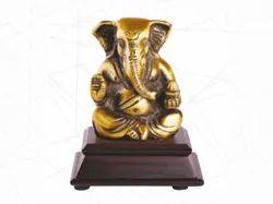 Ganesh Statue Wood Stand