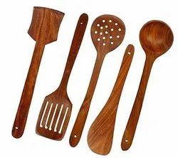 Venus Wooden Spatula Set, For Cook Ware