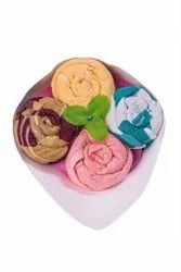 Multicolor Cotton Winsome Official Bouquets/Gifts Item