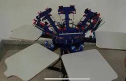 Eletric T Shirt Cotton Bag Screen Printing Machine, Automation Grade: Semi Automatic