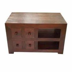 Ethnic India Modern Wooden 4 Drawer TV Unit