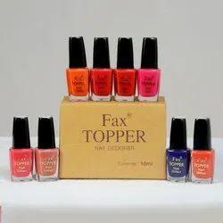 Fax Topper Nail Polish, Box