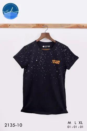 Designer Cotton Printed T Shirt
