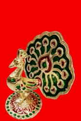 Designer Peacock Statue, For Decoration