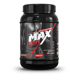 Muscle Axe Max Whey Protein 2.20lb (1kg) Chocolate Flavour, (w*h*d) (15*24*15), Non prescription