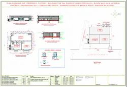Living Room Interior Building Plan & Approval Drawing Service in Pan India