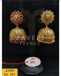 301 Gold Plated Fashion Jhumki