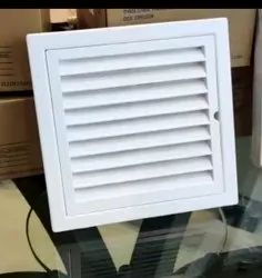 ABS White Outer Wall Grill, For Home