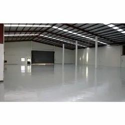 Warehouse Shed Flooring Service, For Outdoor, Anti-Skidding
