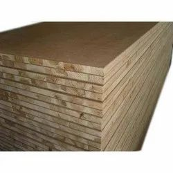 Hardwood MR Grade Block Board, Thickness: 18mm Also Available in 25mm, Size: 9' x 6'