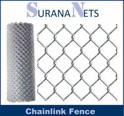 Galvanized Steel Chain Link Fencing