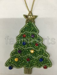 EMBROIDERED CHRISTMAS TREE