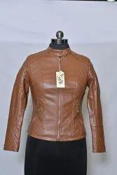 LJ11 Girls Leather Jacket
