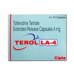Tolterodine Tartrate Capsules