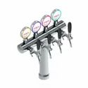 Cruise Tower 4 Tap - European Flow Control - Polished Chrome - Glycol Recirculation Loop