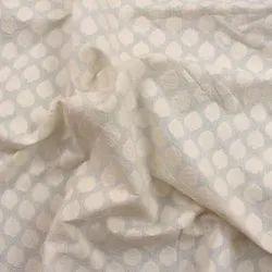 For Textile COTTON SILK JACQUARD FABRIC