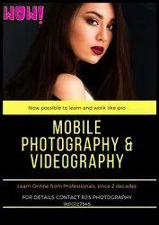 Professional shoot Porfolio with mobile