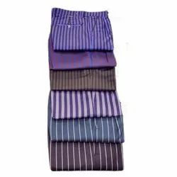 Casual Wear Mens Cotton Striped Pant, Hand Wash