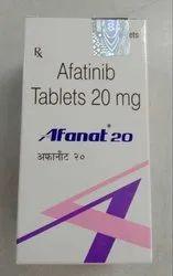 Natco Afatinib Afanat 20 mg, 28 Tablets In One Bottle, Prescription