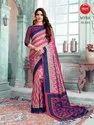 Digital Printed Silk Saree