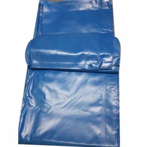 750 GSM Blue PVC Tarpaulin
