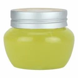 Private Labeling Herbal Yellow Facial Gel, Plastic Container, Normal Skin
