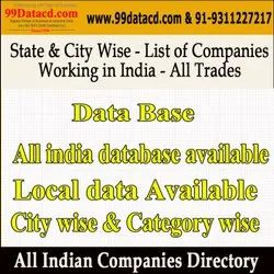 State & City Wise Database - Directory 2020
