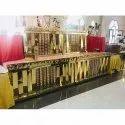 Fancy Wooden Wedding Counter