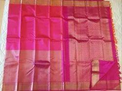 Fuchsia Color Silk Saree