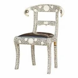 For Home Rectangular Bone Inlay Chair, Size: 36*22*16