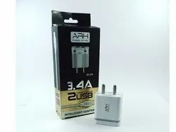 1m White Mobile Charger
